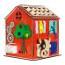 "Бизиборд - Развивающий домик со светом ""Ферма"""