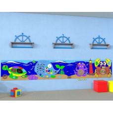 Развивающая панель - Набор-макси «Морские обитатели»