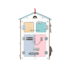 Бизиборд  Занятный домик Датский (40х40х60)