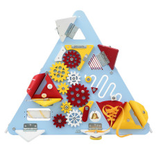 "Бизиборд ""Треугольник"" голубой"